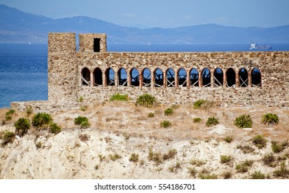 Old Castle Ruins Mnar Tangier Morocco