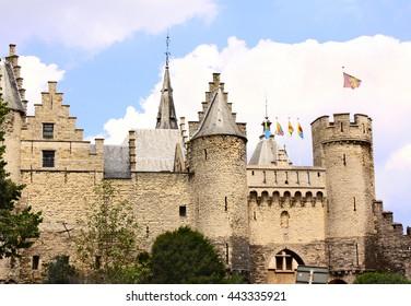 Old castle Steen in Antwerp, Belgium