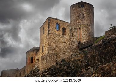 Old castle in the Usti nad Labem, Czech Republic