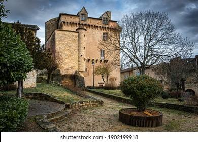 the old castle in varen - Shutterstock ID 1902199918