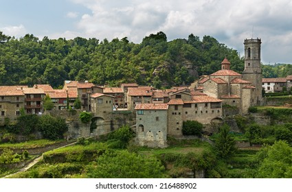 old Catalan village in Pyrenees. Rupit, Spain