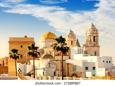 Old Cathedral. Cadiz, Spain
