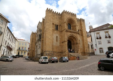 Old Cathedral of Coimbra, Coimbra, Portugal.