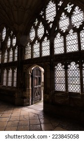Old cathedral Door , Windows and Light