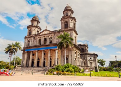 Old Cathedral of Managua. Managua, Nicaragua.