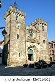 Old cathedral of Viana do Castelo in north of Portugal