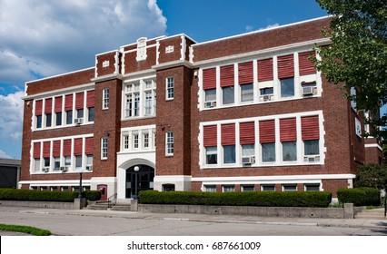 Old Catholic School Building