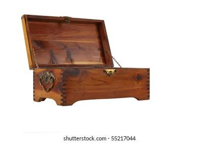 Old Cedar Candy or Jewelry Box