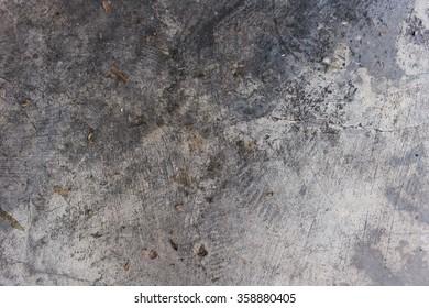 Old Cement Floor.