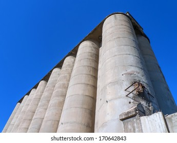 old cement silos