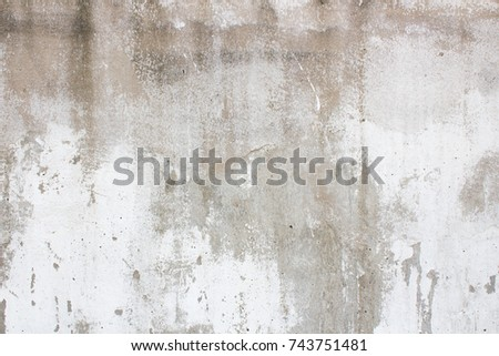old cement wall chipped paint old stock photo edit now 743751481