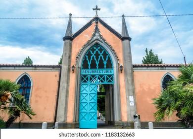 Old cementery in Piran - Slovenia (RESURRECTURIS - resurection)
