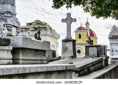 The old cemetery CRISTOBAL COLON in Habana.