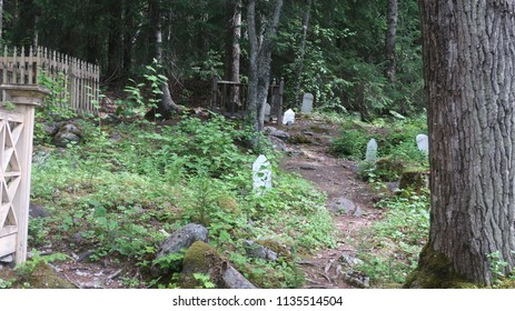 Old cemetery in Skagway, AK