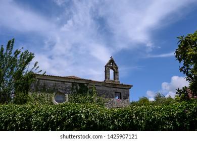 Old chapel in Llanes, Asturias, Spain.