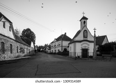 An old chapel in the middle of the village