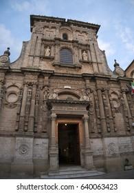 Old characteristic romanic church in Nardò, Italy