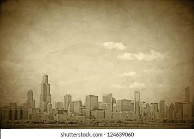 Old Chicago - Vintage Design