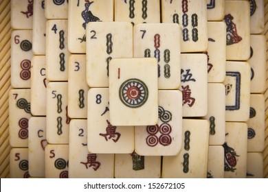 Mahjong Tiles Images, Stock Photos & Vectors | Shutterstock