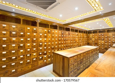 old chinese medicine shop