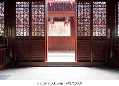 old Chinese Style Interior furniture decoration