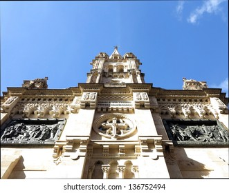 Old church in the center of the city of Salamanca. Spain