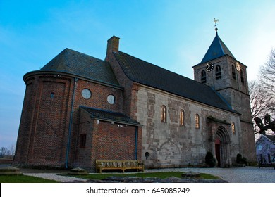 The Old Church in Dutch village Oosterbeek
