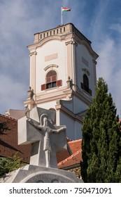 Old Church in Gyor, Hungary