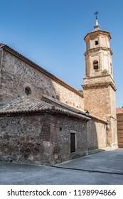 Old Church in Libros - small town near Teruel, Spain