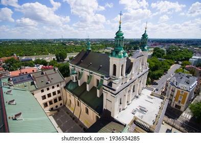 Old church in Lublin - Poland
