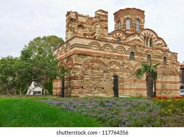 Old church in Nessebar, Bulgaria