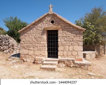Old church on Stari Grad Plain, Hvar