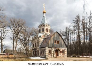 The old Church on the territory of the manor Khrapovitsky in Muromtsevo