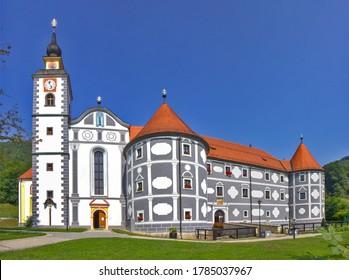 Vieille église de Podcetrtek, Slovénie