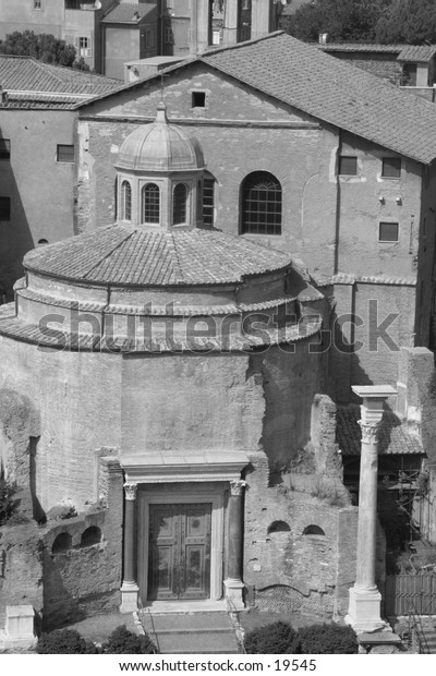 Old Church in Rome