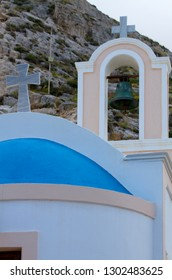Old Church in Santorini Greece