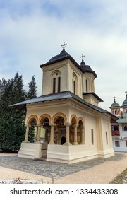 The Old Church in the Sinaia Monastery, Romania.