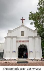 Old church - St Thomas church, St Thomas Mount, Chennai, India