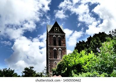 Old church in Wismar Germany