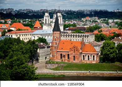 Old churches in Lithuania