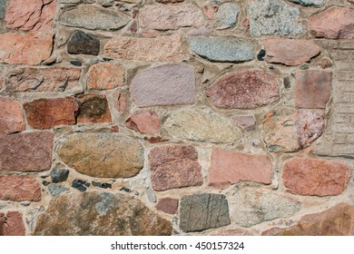 Old Churchwall in Sweden
