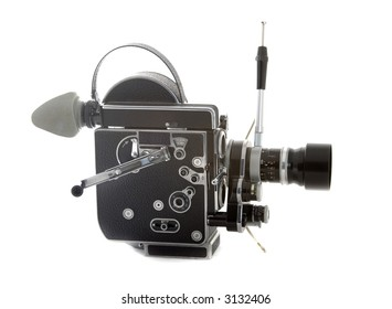 old cinema camera