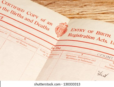 Birth Certificate Images, Stock Photos & Vectors | Shutterstock