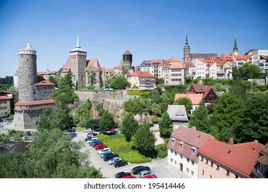 Old City and castle in Bautzen, Germany