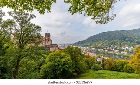 The old city and the castle of Heidelberg