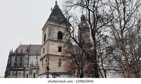 Old city centre of Kosice, Slovakia