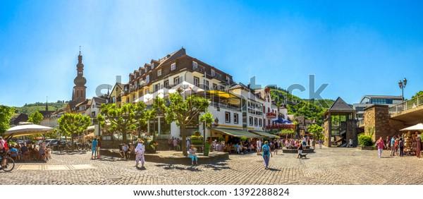 Alte Stadt Cochem, Moseltal, Deutschland