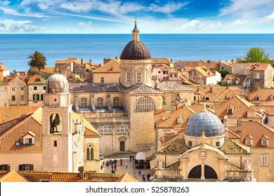 Old city Dubrovnik in a beautiful summer day, Croatia