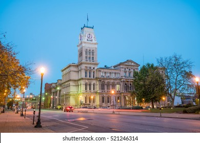 The old City Hall  in downtown Louisville, Kentucky USA