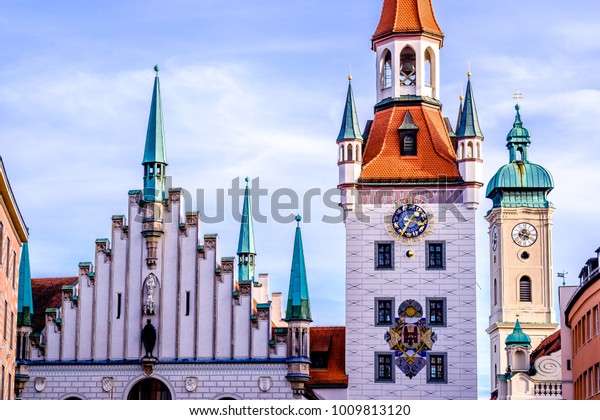 the old city hall of munich - bavaria - germany